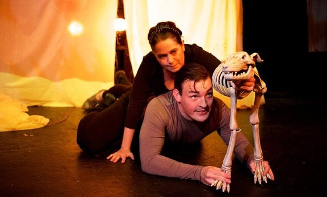 Annette Mooney Wasno and Chris Daileader in Witch from Convergence Theatrre