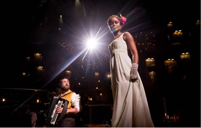 Josh Groban and Denee Benton in Natasha, Pierre and The Great Comet of 1812 (Photo: Chad Batka)