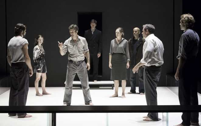The cast of A View from the Bridge at The Kennedy Center (Photo: Jan Versweyveld)