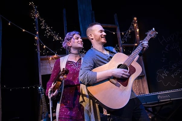 Daven Ralston and Red Daughtery in The Magi at The Hub Theatre (Photo: DJ Corey)
