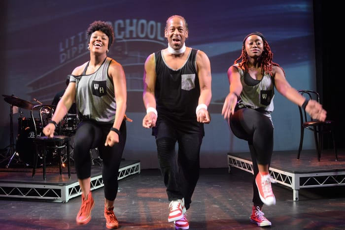 The Wizard of Hip (Or When in Doubt, Slam Dunk) at MetroStage (review)