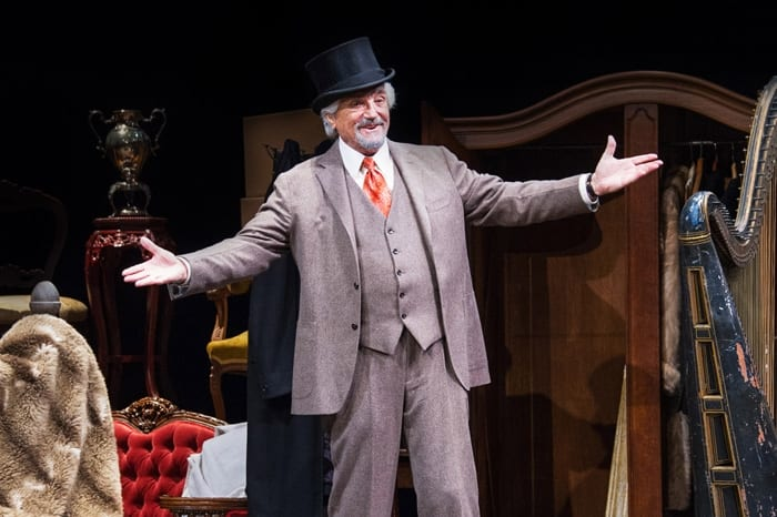 Hal Linden in The Price (review)