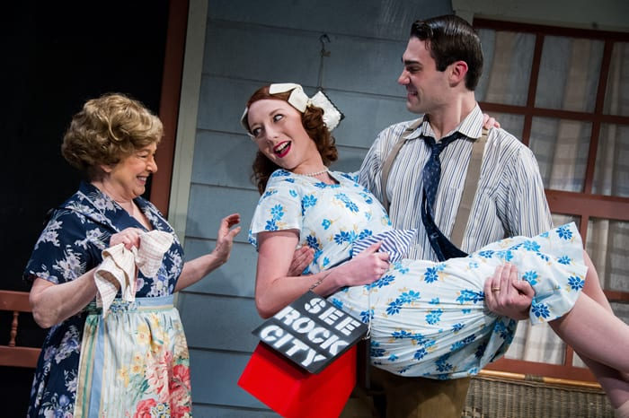 World War II love story continued: See Rock City at Washington Stage Guild (review)