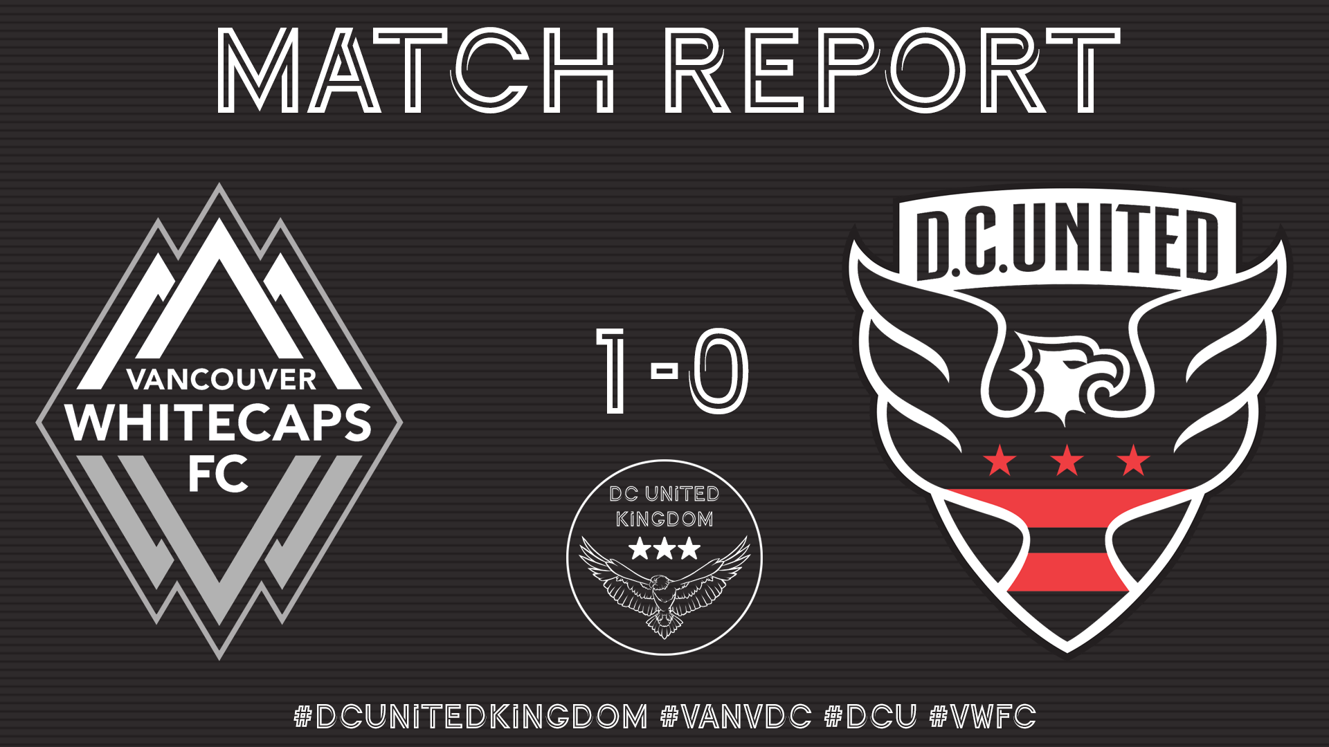 Match Report: Vancouver 1-0 DC United