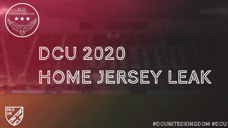 DCU Home Jersey leak