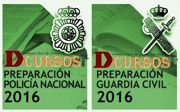 Oposiciones guardia civil y policía nacional 2016