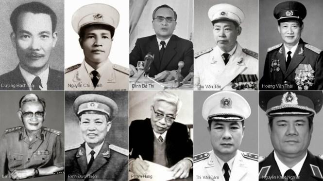 Image result for Lê Duẩn, Lê Đức Thọ, Nguyễn Chí Thanh, Phạm Hùng