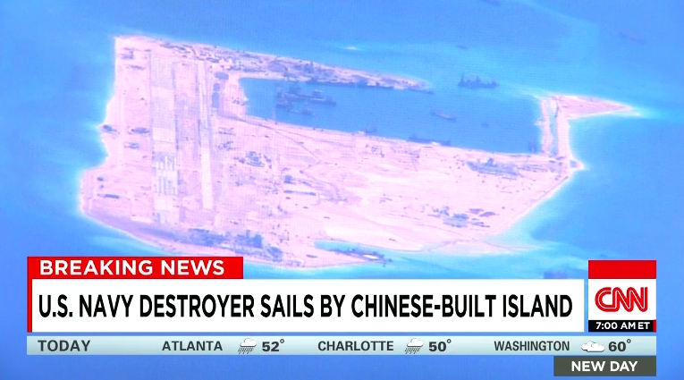 Biển Đông. Tin CNN.