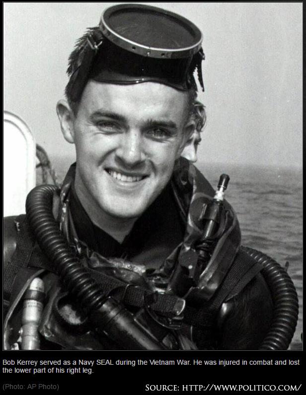 Ảnh chụp Boob Kerey trong thời gian huấn luyện trước khi tham chiến ở Việt Nam. Nguồn: AP