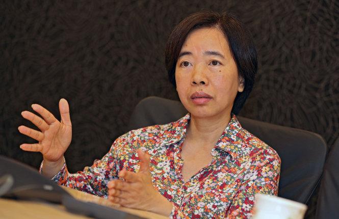Bà Đàm Bích Thủy Nguồn: VIỆT DŨNG/Giaobao.com