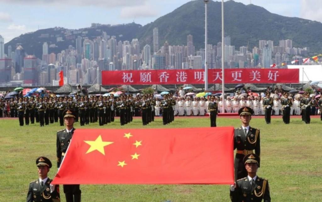 Giải phóng Quân ở Hong Kong. Nguồn: JL