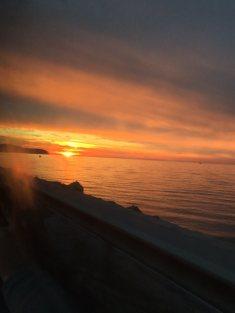Croatian Sunset, courtesy of Lucija Ruzevic