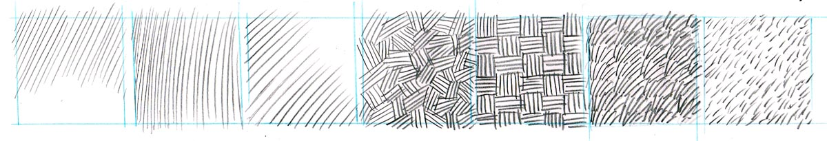 Drawing Using Different Lines : Dynamic drawing archive pattern texture and technique