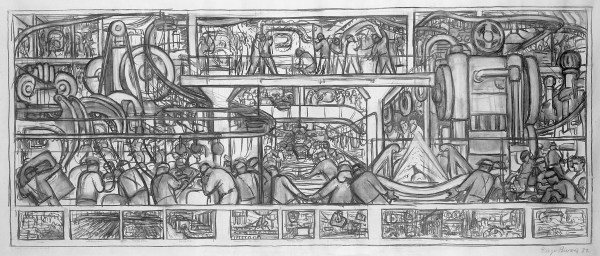 image-278the-assembly-of-an-automobile---diego-rivera