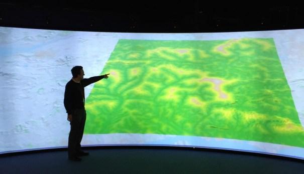 flood event model hartree visualisation