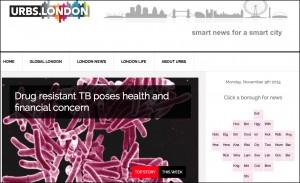 Screenshot from Urbs.London