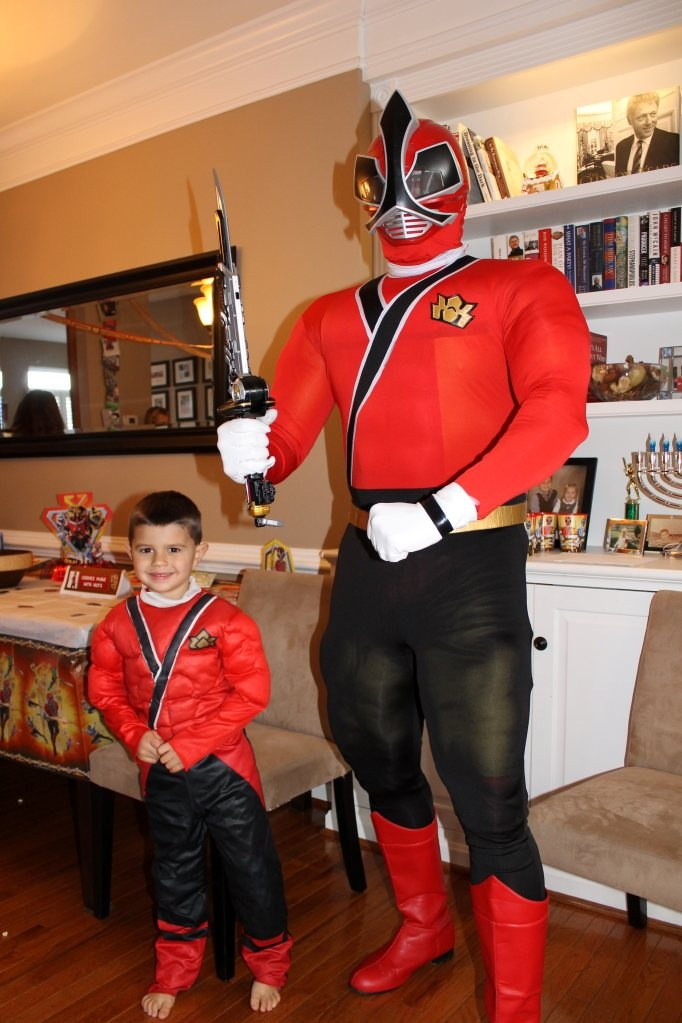 Real Event Power Ranger Birthday Party
