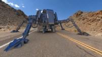Asteroid Miner Concept. Forgotten Star