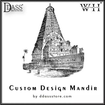 customize wooden temple