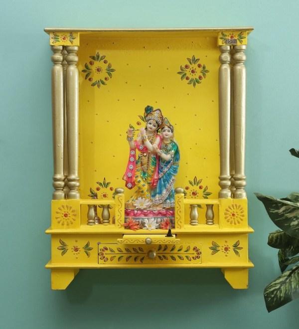 Sheesham Wood Pooja Mandir