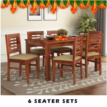 6 Seater Dining Table Sets