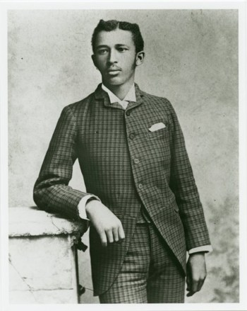 Young W.E.B. Dubois as a at Fisk University