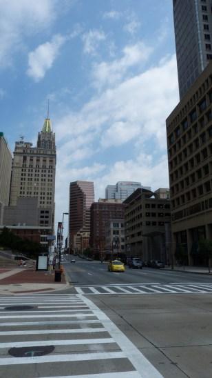 tipikus amerikai nagyvárosi utca
