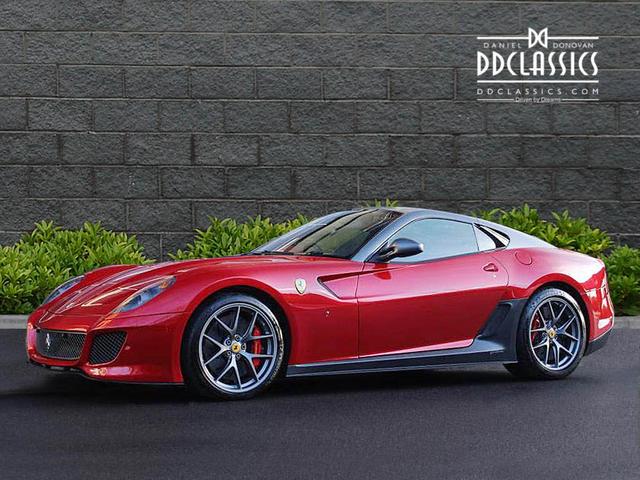 Ferrari 599 GTO 2011 Mugello Rosso