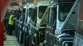 A tour to see the last Defenders made at the Solihull factory has attracted 10,000 visitors in a year. Photograph: BBC News