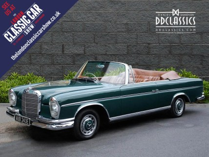 classic mercedes-benz 300SE for sale in london_1