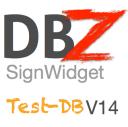 DBZ_SignWidget_TestDB