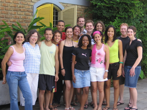 The 2007 Brazil Summer Project Team
