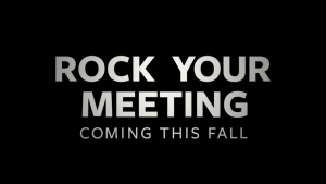 Rock Your Meeting title screen