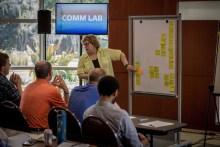 leading a workshop