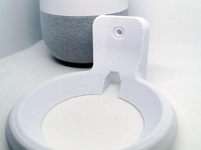 Veggfeste til Google Home