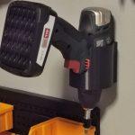 Universal veggholder til drill