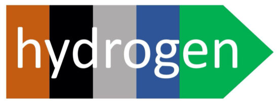 Hydrogen color spectrum