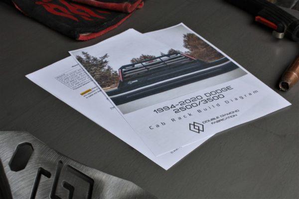Dodge Toolbox Gusset Blueprint