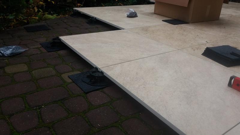 ceramic patio tiles 2 cm for a