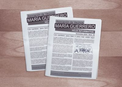 Asociación de Vecinos María Guerrero · La Bozada