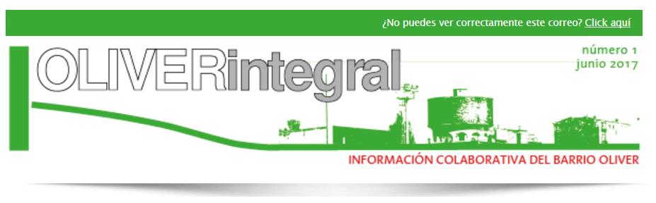 Boletín de Comunicación: Oliver Integral