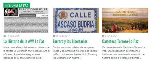 Web La Paz Contenidos Fijos