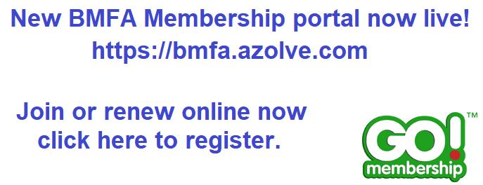 New BMFA Membership Portal