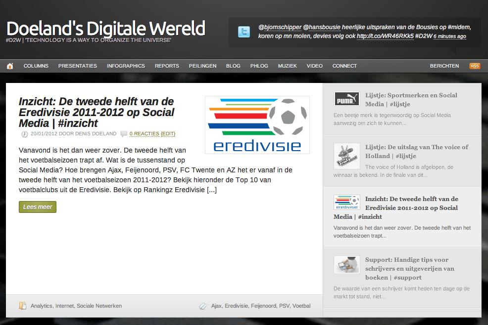 Doeland's Digitale Wereld