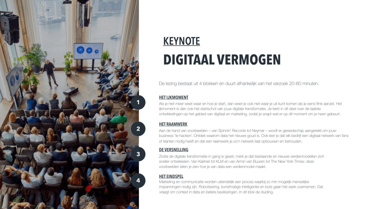 Keynote Digitaal Vermogen Denis Doeland