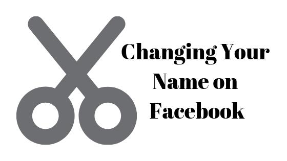 Как изменить свое имя на Facebook