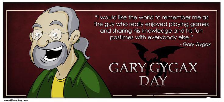 Celebrating Gary Gygax Day, Happy Birthday To The Late Gary Gygax | DDO  Players