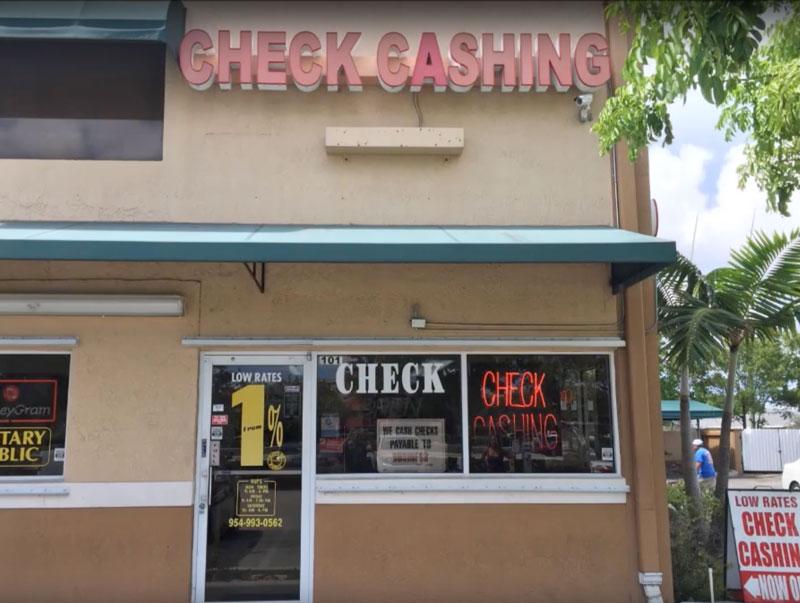 Check Cashing