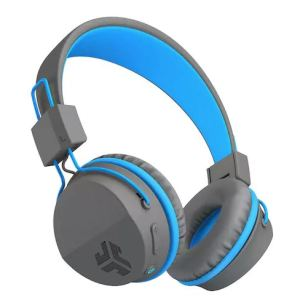 wireless headphones - light blue