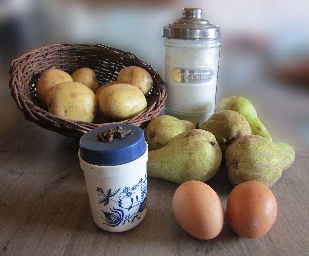 Kloß und Birnen Klump Rezept Oma früher